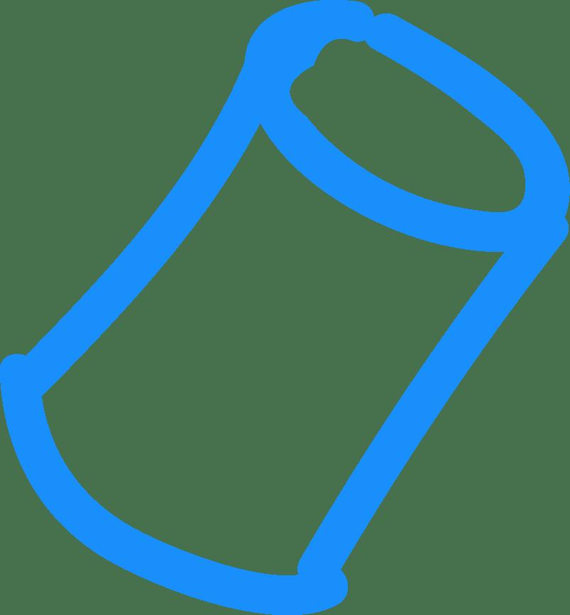 binit waste type icon azure aluminium